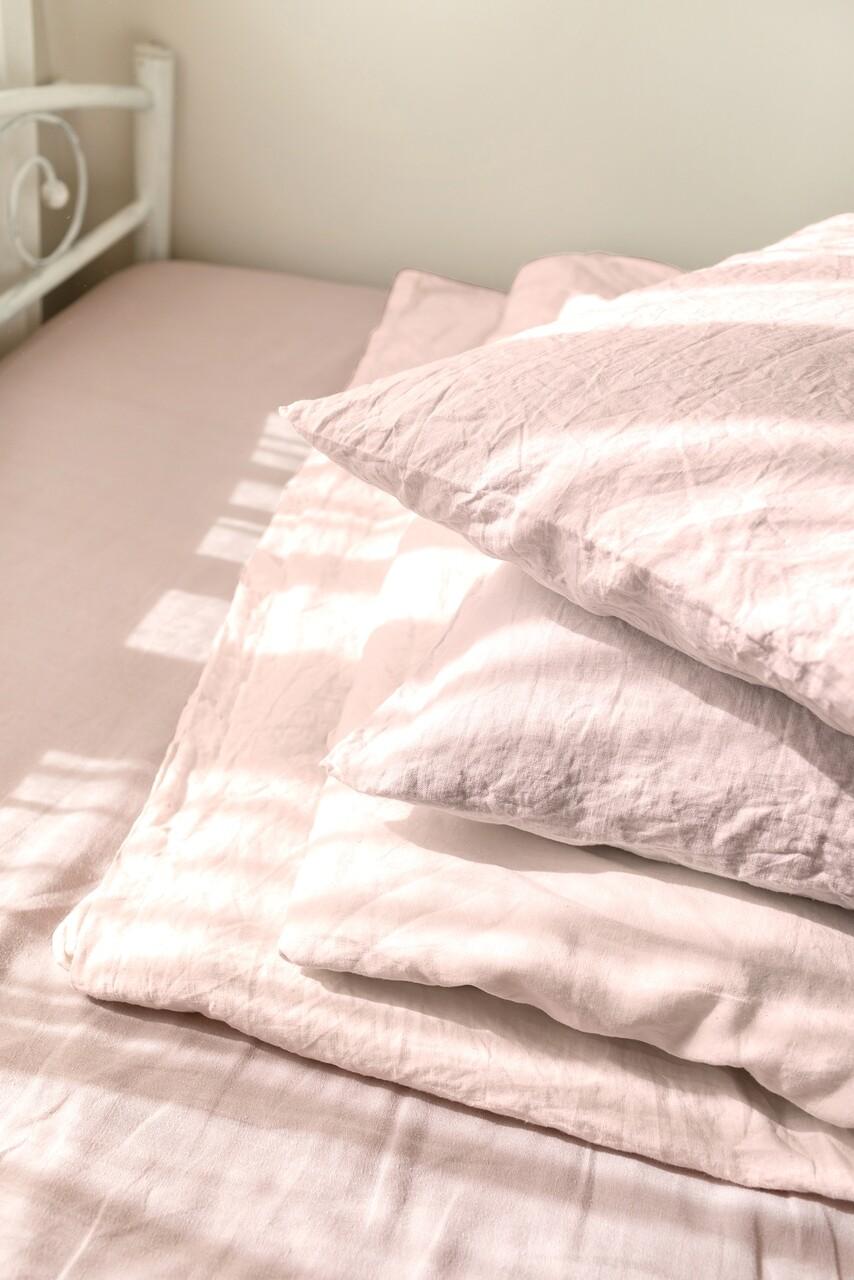 Set 2 fete de perna 50x70 cm, Bedora, 100% IN, Roz