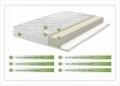 Saltea Aloe Vera 14+2 Memory, husa cu fibre de bambus cu efect antimicrobian, Super Ortopedica, aerisire 3D Free Air, 140x200 cm