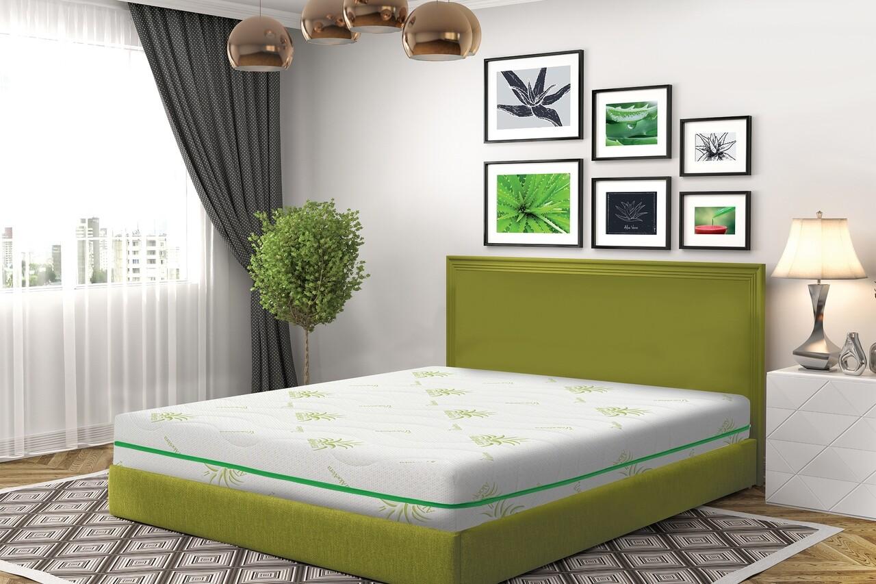 Saltea Green Future COOL Aloe Vera Memory, 200x200 cm