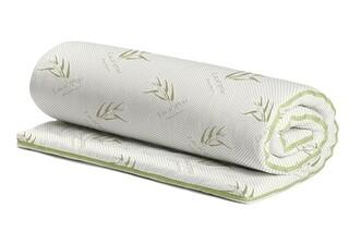 Topper saltea Eucalyptus Confort, 7 zone, 90x190 cm