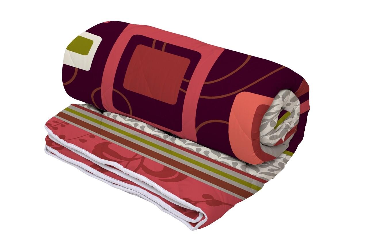 Pilota Alcam Red Velvet microfibra matlasata, 140x200 cm, 250g/mp